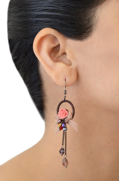 Thalia Rose Drop Earrings