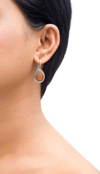 Cheri Brown Classic Tear Drop Earrings