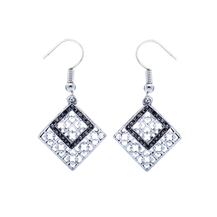 Alice Window Drop Earrings