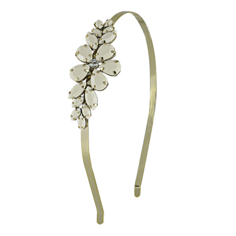 Gracie Floral Stone Studded Hair Bands