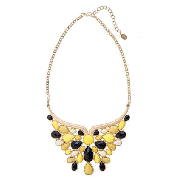 Monarch Embellished Statement Necklace