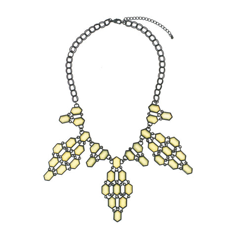 Beehive Statement Necklace