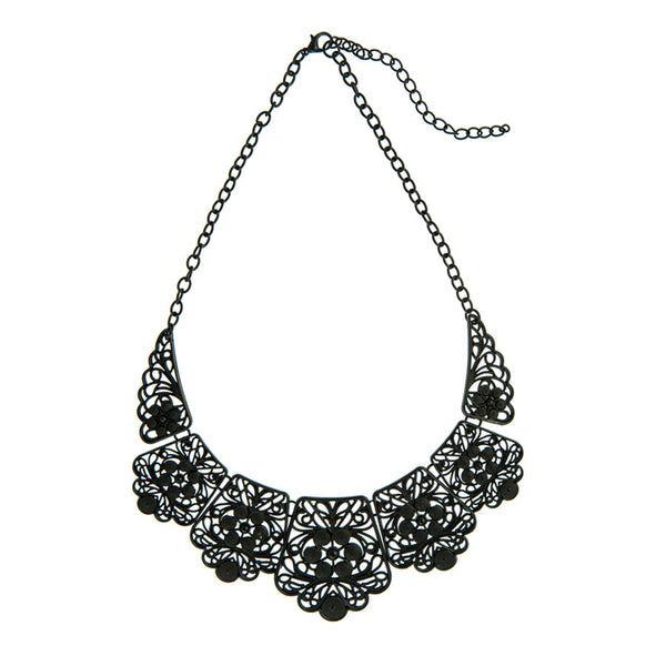 Laser Cut Collar Necklace