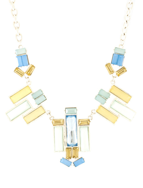 Summer Quartz Flake Necklace