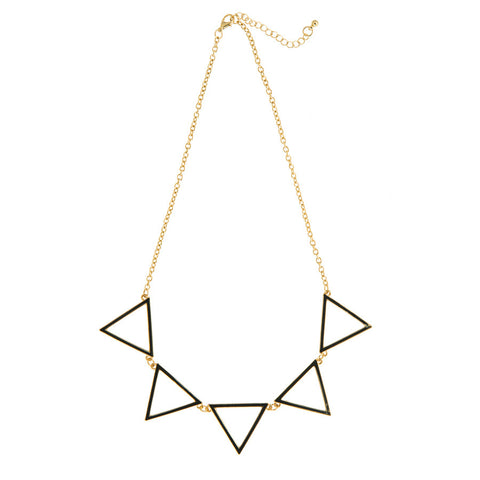 Selma Triangle Necklace