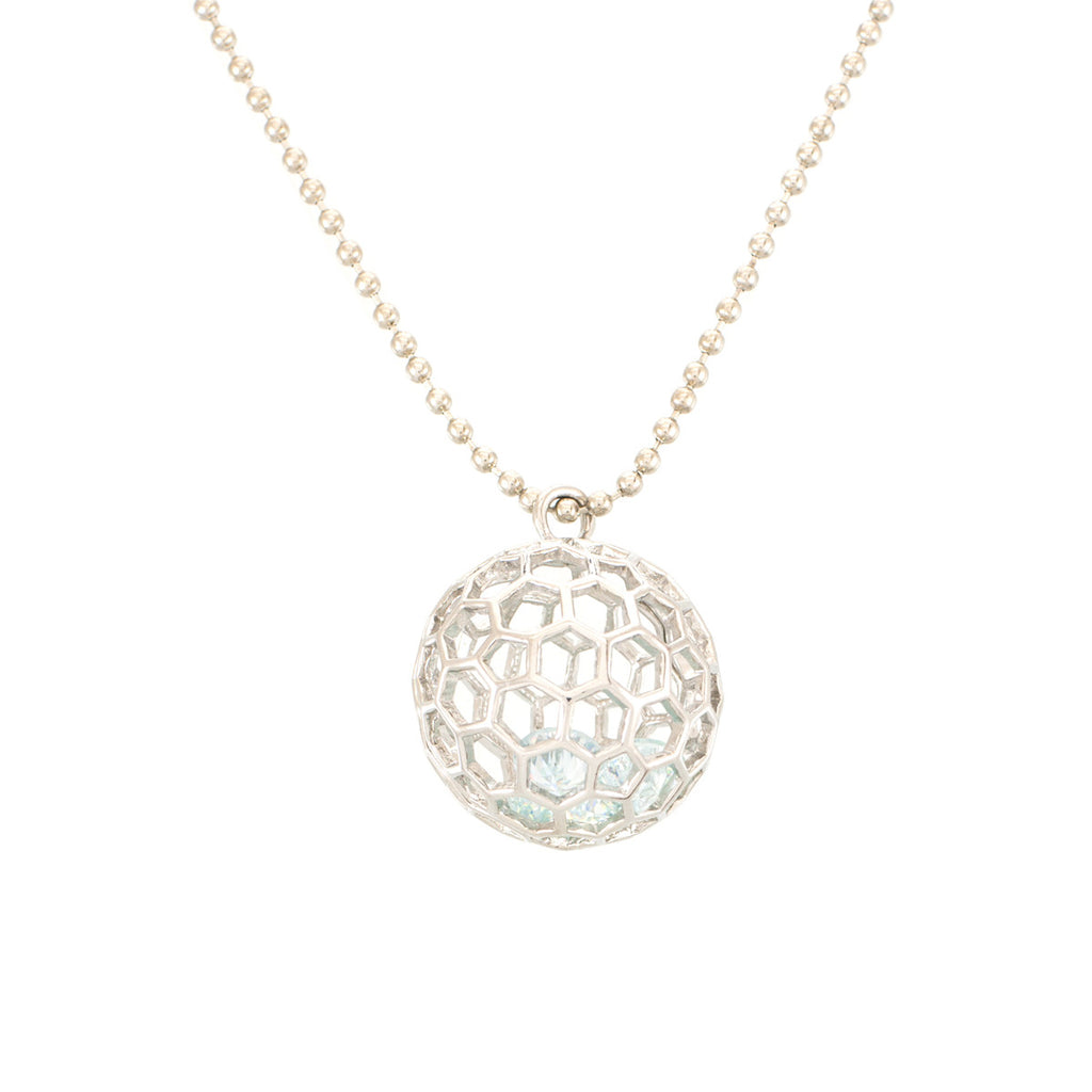Soccer Ball Crystal Pendant