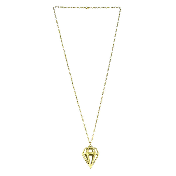 Hazel Diamond Pendant