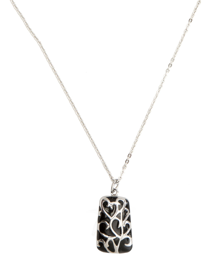 Hearts Stainless Steel Pendant