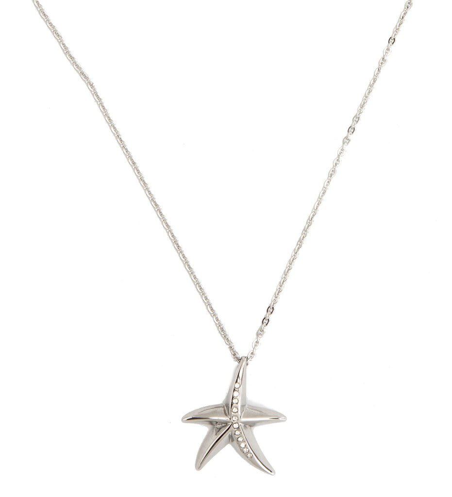 Starfish Stainless Steel Pendant