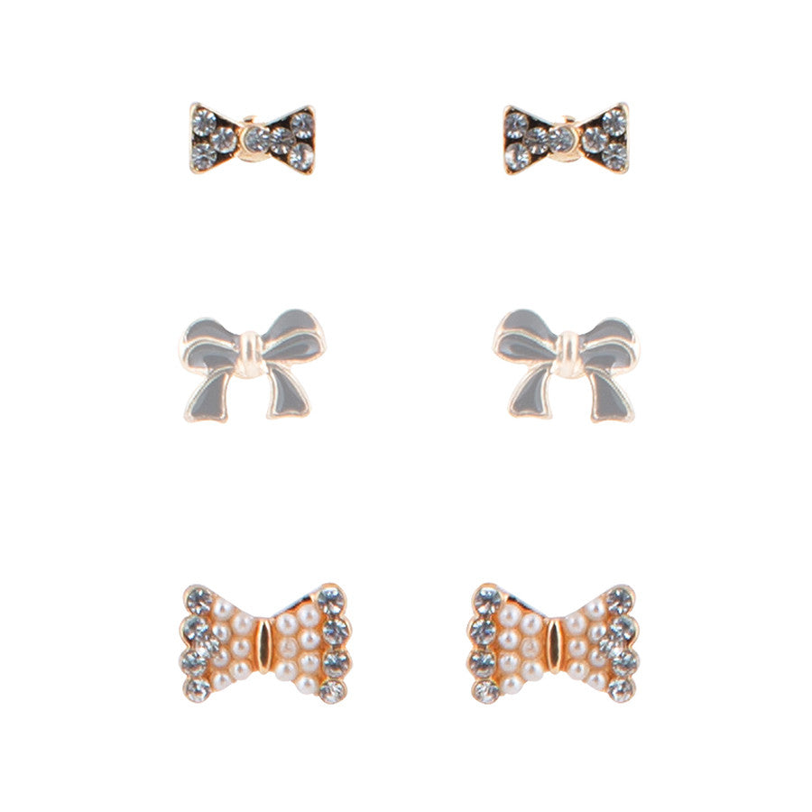 Trish Take a Bow Stud Earrings