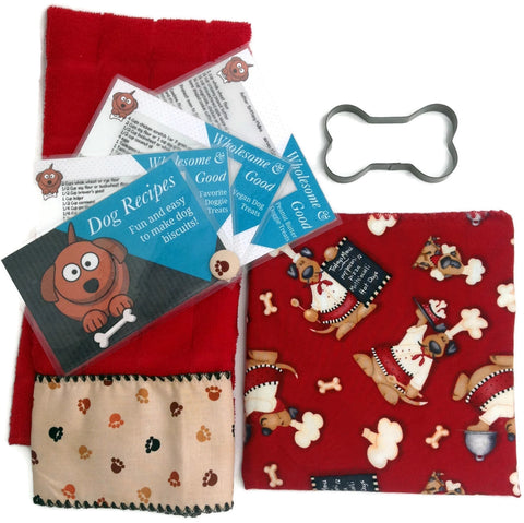 Dog Biscuit Treat Baking Bundle