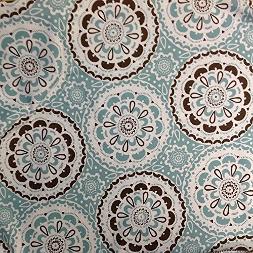 "70"" round tablecloth cotton designer made"