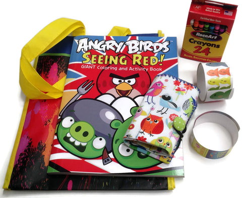 Angry Birds Travel Learning Activities Coloring Bundle