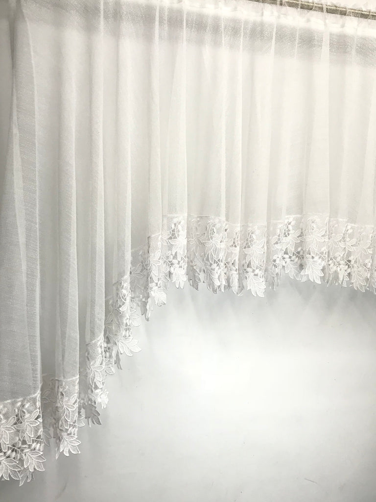 Heritage Lace Boucle' Tier Window Valance