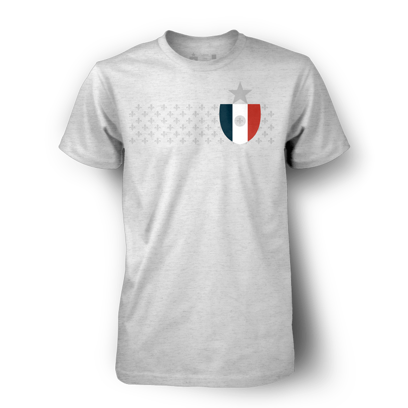 The France Shirt (2014 version, Grey Remix)