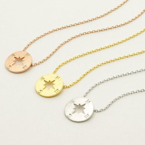 Compass necklace - Free Shipping - Hello Wander - 7