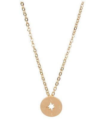 Compass necklace - Free Shipping - Hello Wander - 4