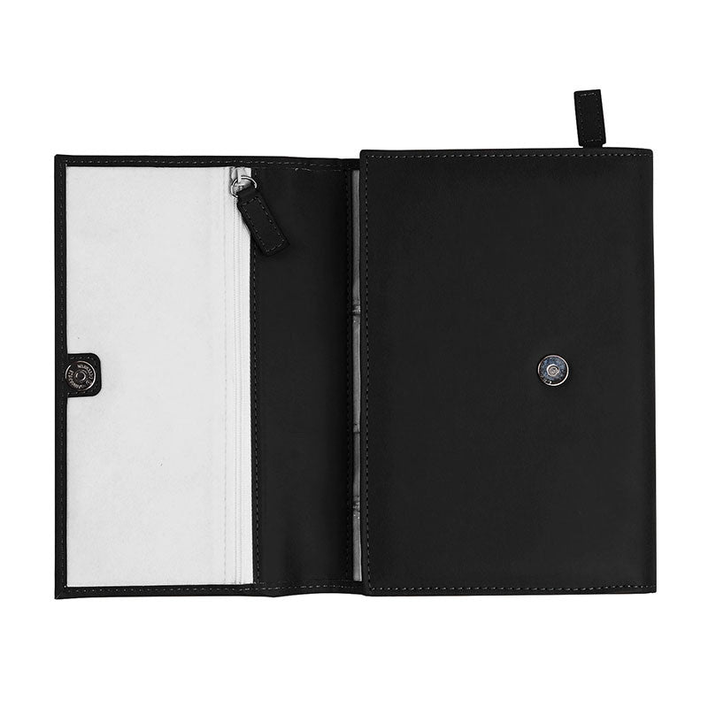 Travel Jewelry Organizer - Black - Wallet - Hello Wander