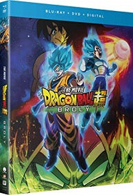 Dragon Ball Super: Broly HD Funimation Computer Download Digital Code