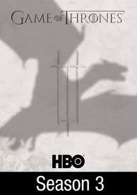 Game of Thrones: Season 3 HD Digital Code