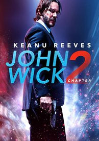 John Wick Chapter 2 4K ( Canadian iTunes Code )