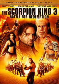 The Scorpion King 3 Battle for Redemption HD UV Code