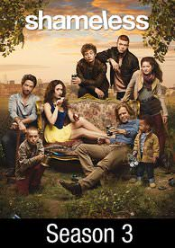 Shameless: Season 3 HD Digital Code