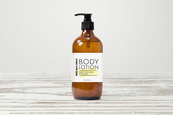 Organic Lemon Myrtle & Lemongrass Body Lotion