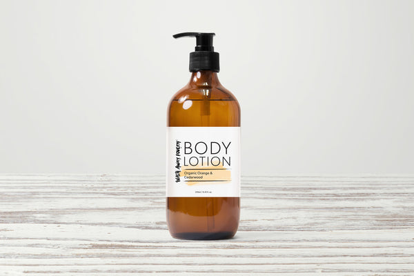 Organic Orange & Cedarwood Body Lotion