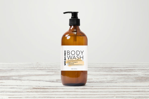 Organic Orange & Cedarwood Body Wash