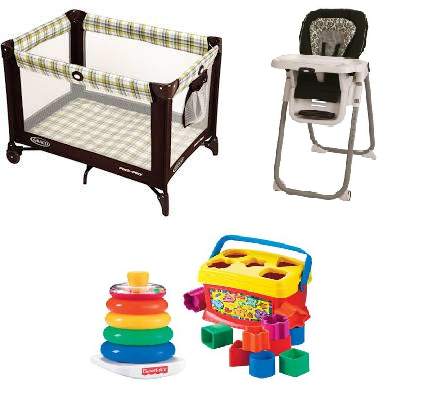 Weekend Hotel Bundle- Daily Discounted Price - Beans Baby Services- Nashville Baby Equipment Rental