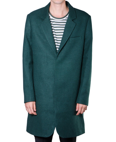 Jungle Green Overcoat