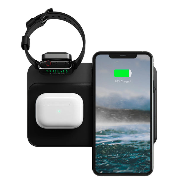 Nomad Base Station Apple Watch + Wireless Charging Dock