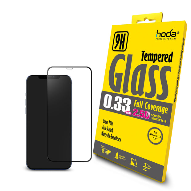 Hoda 2.5D 0.33mm Clear Tempered Glass for iPhone 12 series