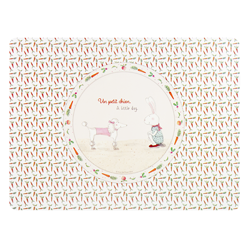 ASHDENE Placemat Ruby Red Shoes Petit Chien - Houzethat - 2