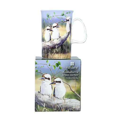 ASHDENE Mug  Kookaburras (Bone China)