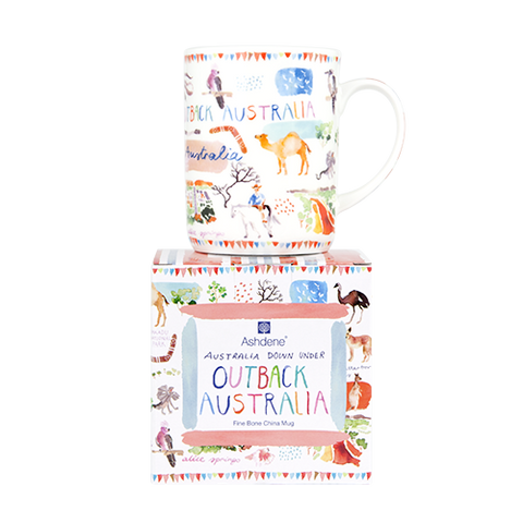 ASHDENE Mug  Australia Down Under Outback