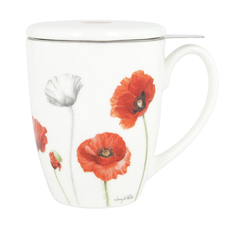 ASHDENE 3PC Infuser  Poppies - Houzethat