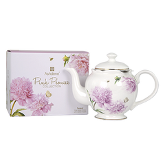 ASHDENE Teapot with infuser Pink Peonies