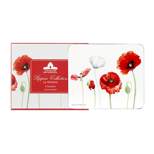 ASHDENE Coasters Poppies - Houzethat