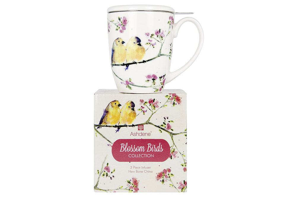 ASHDENE 3PC Infuser  Blossom Birds