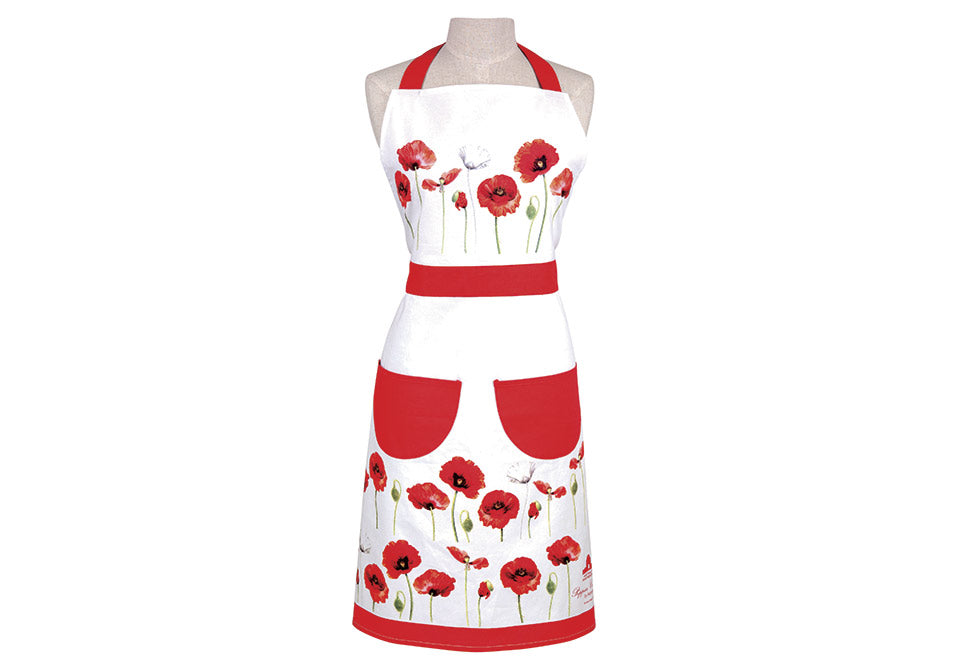 ASHDENE Apron Poppies