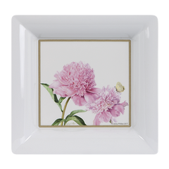 ASHDENE Scatter Tray Pink Peonies