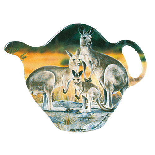 ASHDENE Tea Bag Holder  Kangaroo Family
