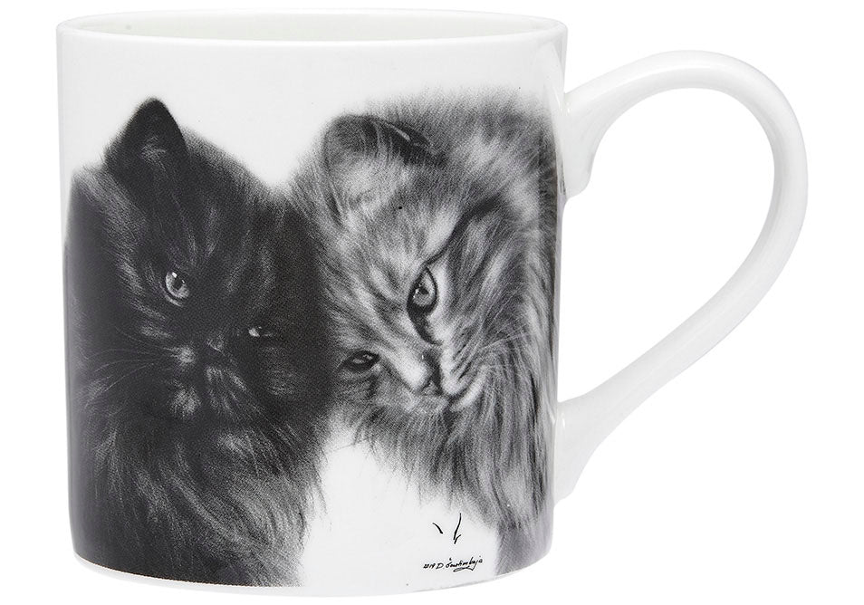 ASHDENE Feline Friends Bonding Buddies City Mug