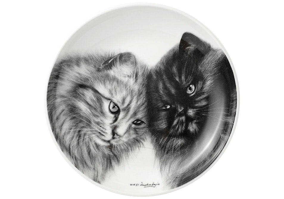 ASHDENE Feline Friends Bonding Buddies Trinket Dish