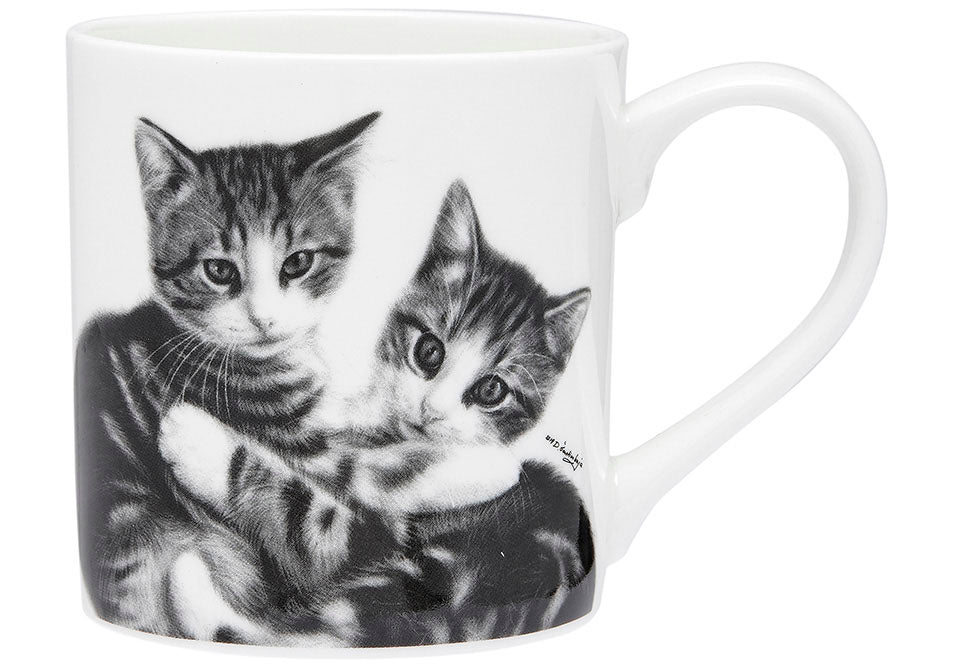 ASHDENE Feline Friends Cuddling Kittens City Mug