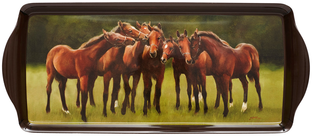 ASHDENE Sandwich Tray Horse Fellowship