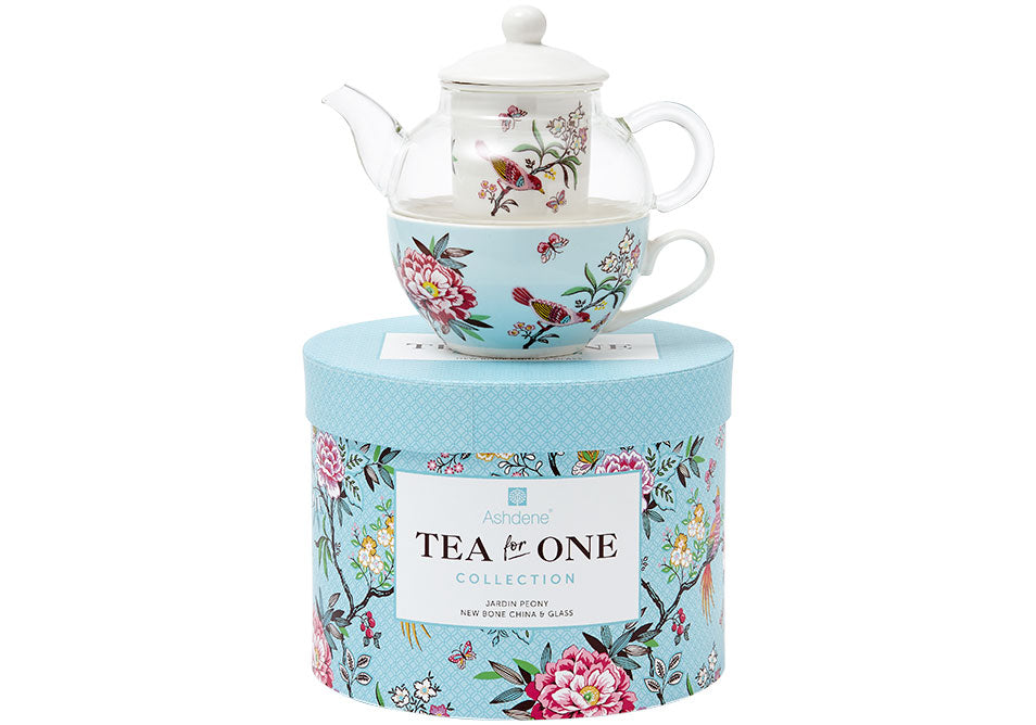 ASHDENE Tea For One  Jardin Peony