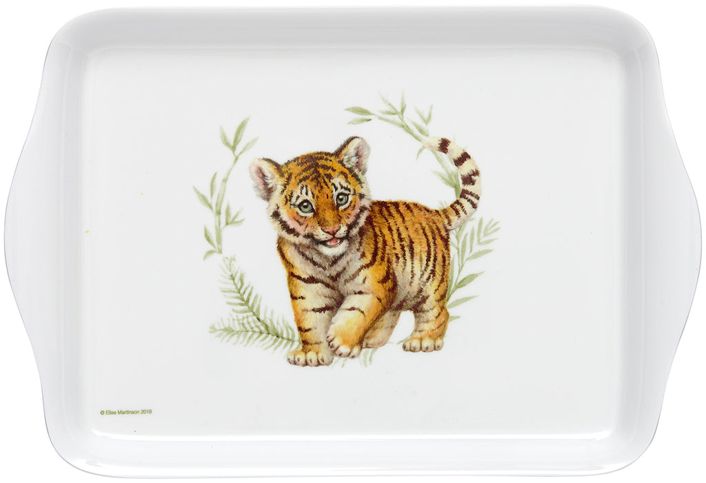 ASHDENE Tiger Scatter Tray Wild Baby Animals